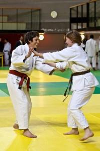 Cécile Mas - Prof de Judo - Les Petits Loulous du 9ème
