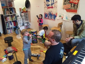 Eveil musical - Les Petits Loulous du 9ème