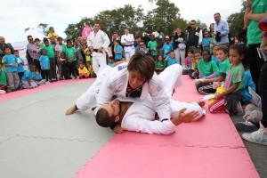 Hana - Cours de judo - Les Petits Loulous du 9ème