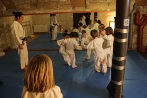Cours de baby judo avec Hanna 1