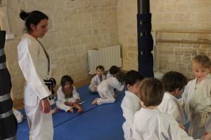 Cours de baby judo avec Hanna 2