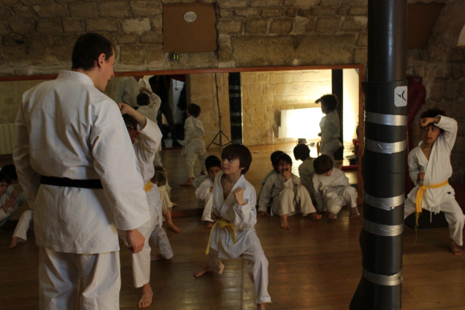 club karate paris 9