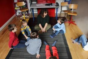 Cours de sophrologie pour les enfants