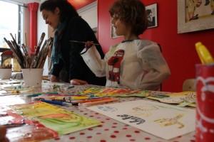 atelier de peinture pour les enfants à paris
