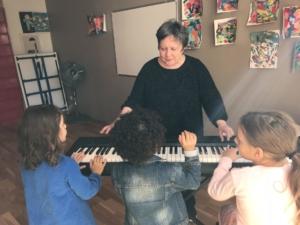 Cours de piano pour enfant paris
