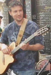 Gilles Gontier, professeur de guitare